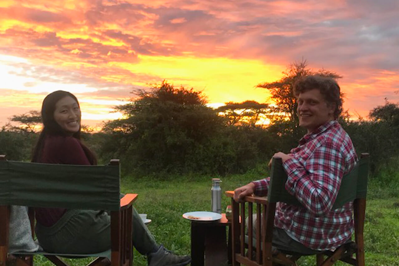 BT travelers on a 2021 safari in Tanzania 2021 - Photo from Mr. Mayle