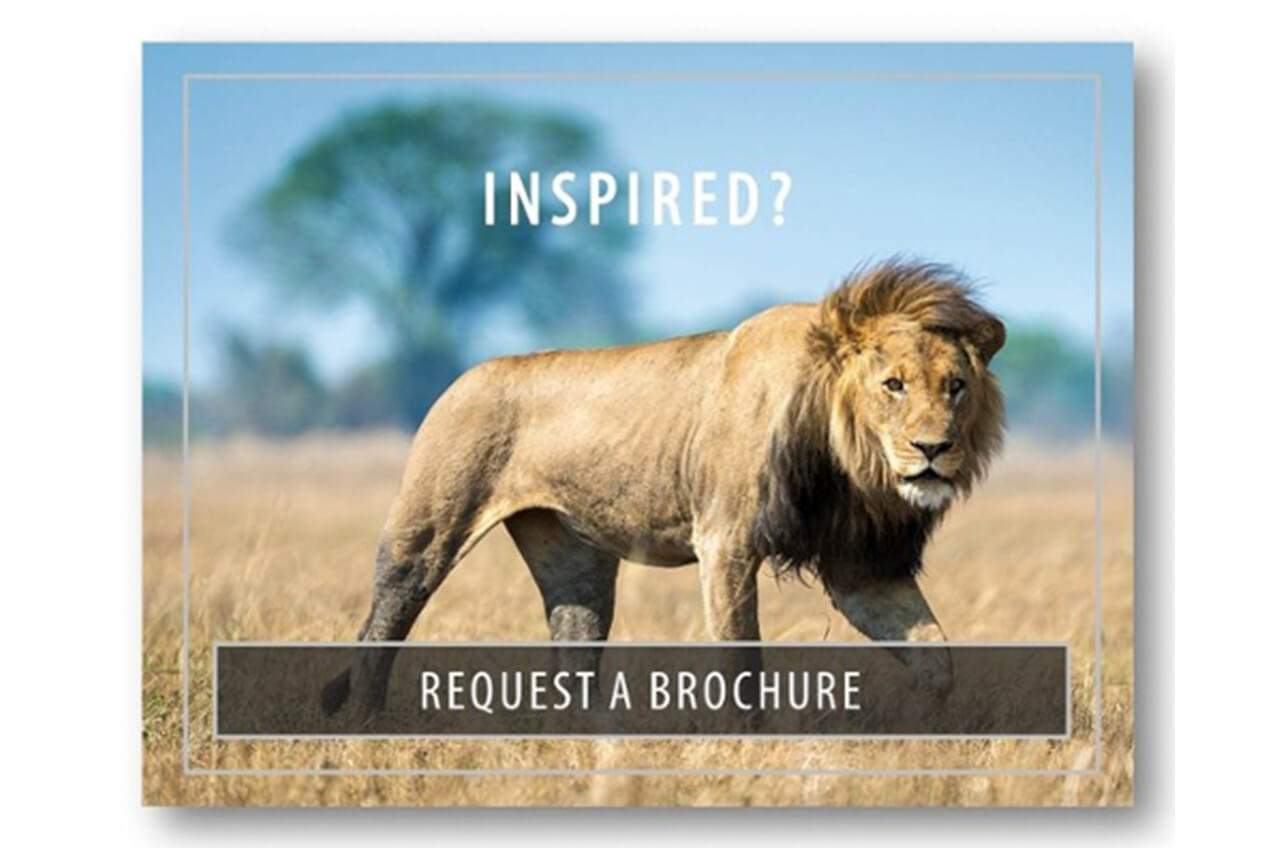 Inspired - Request a Brochure