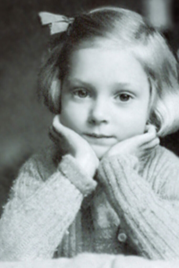 Jane Goodall When She Was a Child
