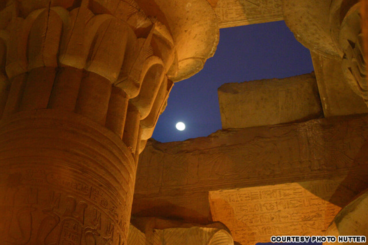 Kom Ombo Temple by night - Courtesy of Photo Hutter