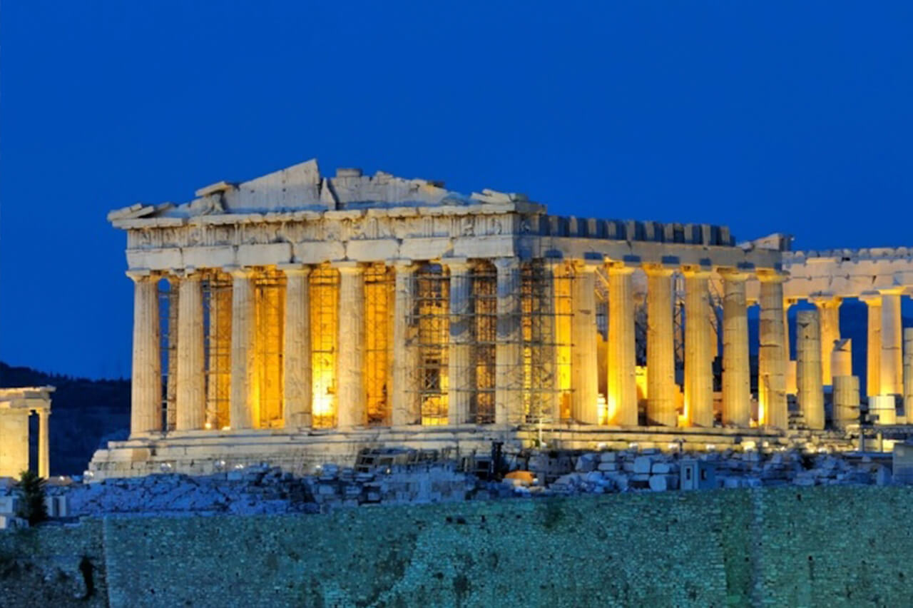 Parthenon temple Acropolis in Athens Greece - photo by George Atsametakis Alamy