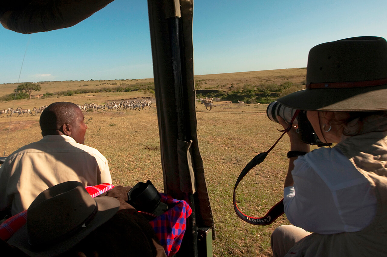 Photography safari with Mara Expedition Camp in Masai Mara Kenya - Copyright Beverly Joubert