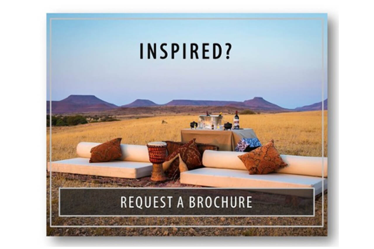 Request a brochure from Bushtracks Expeditions if you are inspired to visit Namibia