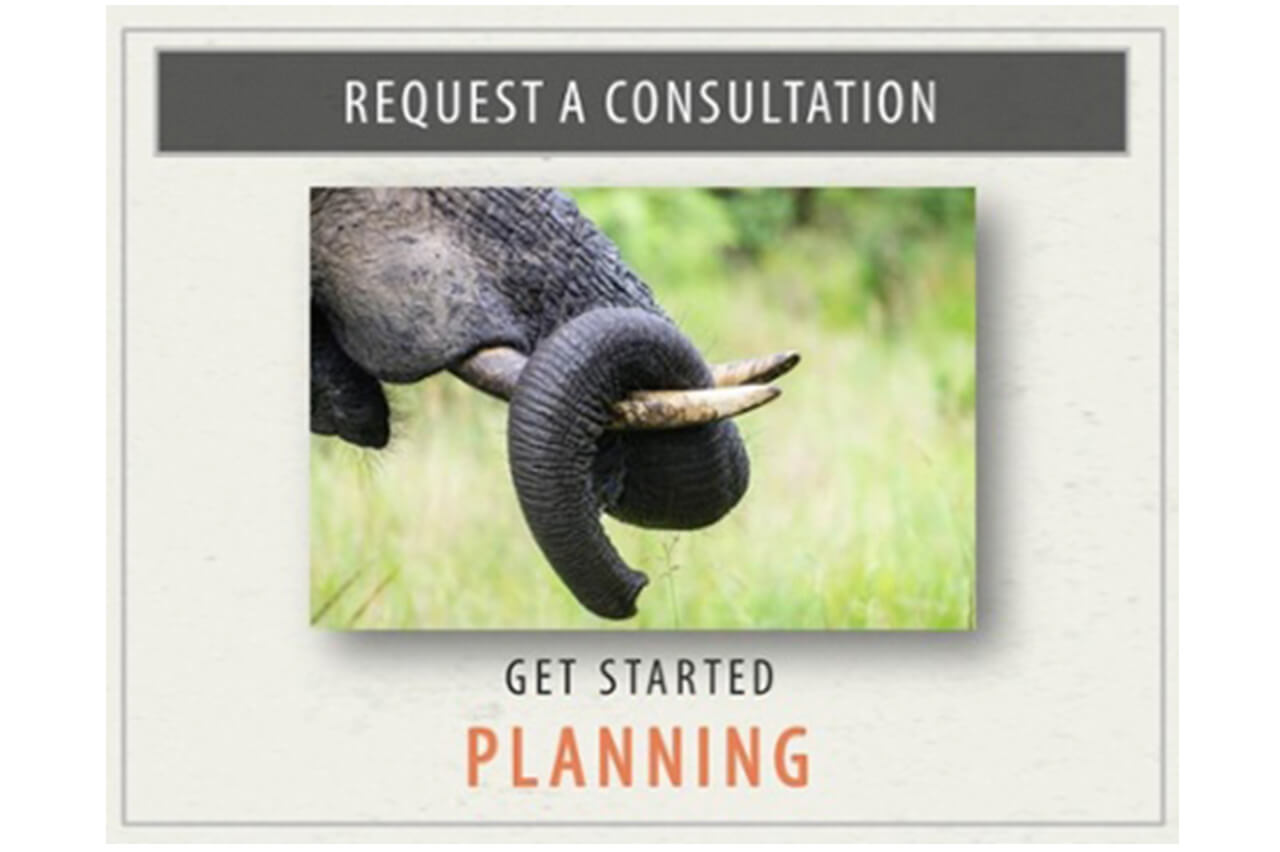 Request a consultation - Get started planning